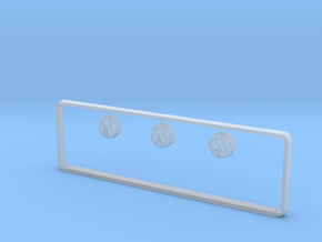 Unicomp LED Jewels for LED Holes in Badges in Smooth Fine Detail Plastic