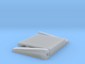 """1/25 Intercooler 16"""" Flow Length By 16"""" Wide in Smooth Fine Detail Plastic"""