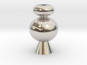 IkebanaVase-4 in Platinum