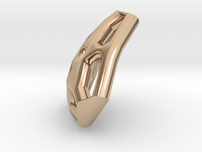 Trangular Tile1 in 14k Rose Gold