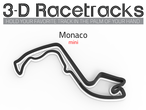 Mini Monaco GP | Topographic in Full Color Sandstone