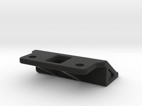 Tamiya M03 On/Off Switch Mount, Custom in Black Natural Versatile Plastic