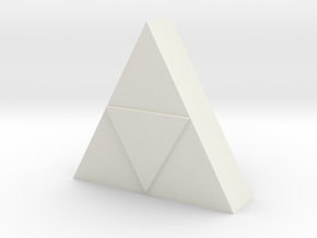 Triforce Model  in White Strong & Flexible