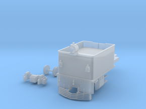 G42 Rear Unit(S/1:64 Scale) in Smooth Fine Detail Plastic