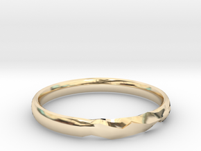 Shadow Ring US Size 7 UK Size O in 14K Yellow Gold