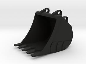 LT Bucket in Black Natural Versatile Plastic