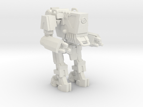 1/87 Scale Wofenstain Trooper Robot in White Strong & Flexible
