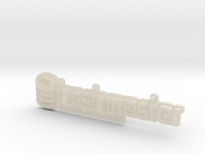 HashMasterBadge in White Acrylic