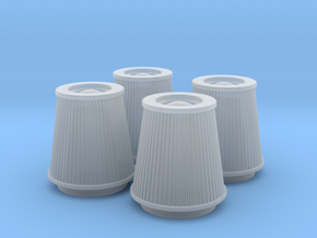 1/25 K&N Cone Style Air Filters TDR 4930 in Smooth Fine Detail Plastic