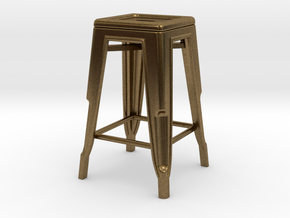 1:24 Pauchard Stool in Natural Bronze