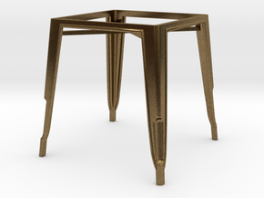 1:24 Pauchard Dining Table Frame in Natural Bronze