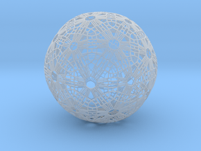 Soccer ball Abstract in Smooth Fine Detail Plastic