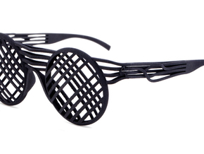 SOS - Eyewear in Black Strong & Flexible