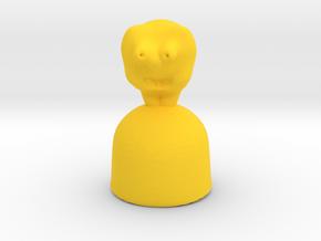 Domo  in Yellow Processed Versatile Plastic