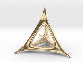 D4 in 14K Yellow Gold