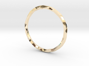 Poly Ring in 14K Yellow Gold