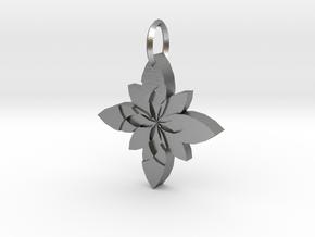 Sacret Flower geometry in Natural Silver