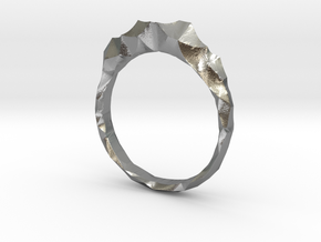 shard ring in Raw Silver