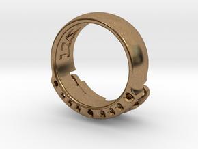 US14 Ring VI: Tritium in Natural Brass