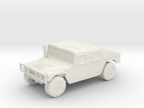 1/100 Humvee W.I.P. downloadable in White Natural Versatile Plastic