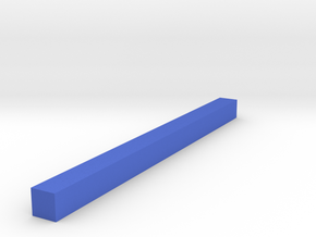 Assembly Parts Small C1 in Blue Strong & Flexible Polished