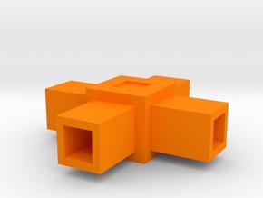 Assembly Parts Small C4 Sym in Orange Processed Versatile Plastic