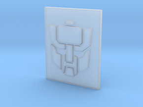 Wrecker plate in Smooth Fine Detail Plastic