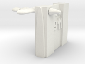 World Trade Center in White Natural Versatile Plastic