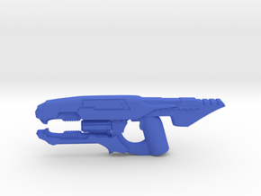 Plasma Disruption Rifle in Blue Processed Versatile Plastic