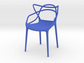 Masters Chair Miniature 1:12 in Blue Processed Versatile Plastic