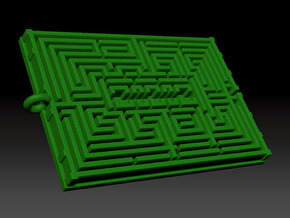 HedgeMaze in Green Processed Versatile Plastic