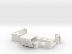 SP3 USB Holder in White Natural Versatile Plastic