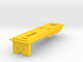 Interior Mount - 1.5mm - With USB in Yellow Processed Versatile Plastic