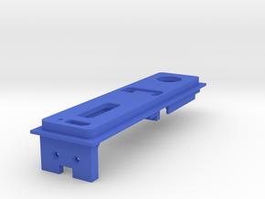 Interior Mount - 3mm - With USB in Blue Processed Versatile Plastic