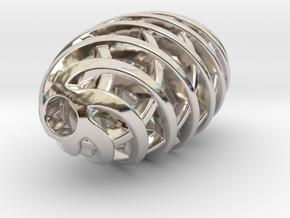 Tritium Pendant 1 (All Materials) in Platinum