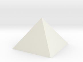 Pyramid Hollow 74mm 95cm3 - Square Johnson  Closed in White Natural Versatile Plastic