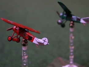 1/144 Fokker D VIII in White Natural Versatile Plastic