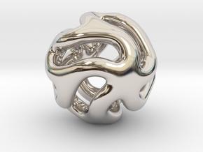 Starfish Kanga Pendant in Platinum