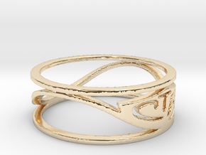 CTR Wired (Size 5.75 x 5 mm) in 14K Yellow Gold