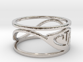CTR Wired (Size 5.75 x 8.8 mm) in Platinum
