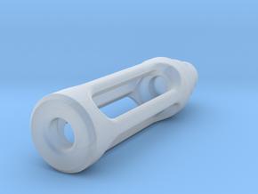 Tritium Lantern 1C (Silver/Brass/Plastic) in Smooth Fine Detail Plastic