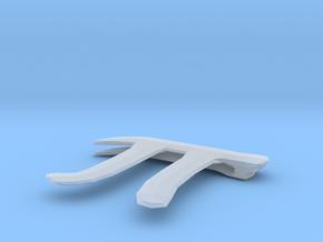 Pi Clip in Smooth Fine Detail Plastic