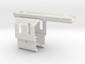 Resident Evil 0: Samurai Edge Optic Rail Mount in White Natural Versatile Plastic