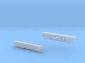 Scoria Left And Right Side Panels in Smooth Fine Detail Plastic