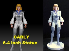 Carly homage Space Woman 6.4inch Full Color Statue in Full Color Sandstone