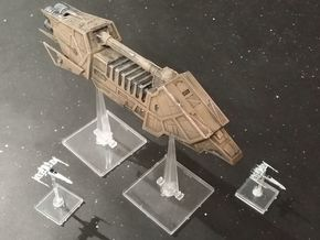 Action VI Transport (1/440) in White Strong & Flexible