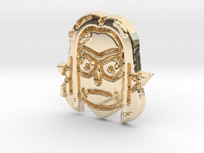Rick3 in 14K Yellow Gold