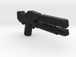Electron Mass Rifle  in Black Natural Versatile Plastic