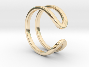 Switchback Ring - Size 6.5 in 14K Yellow Gold
