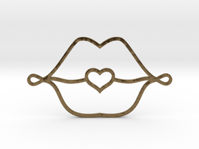 Love Lips in Natural Bronze